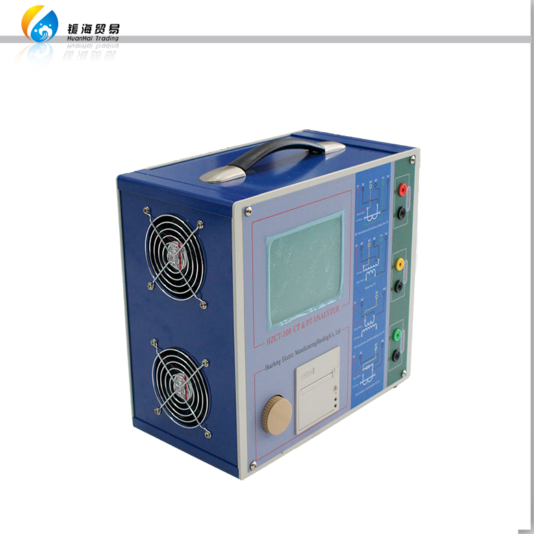 HZCT-100 Variable Frequency Current Transformer Testing Equipment CT PT Analyzer
