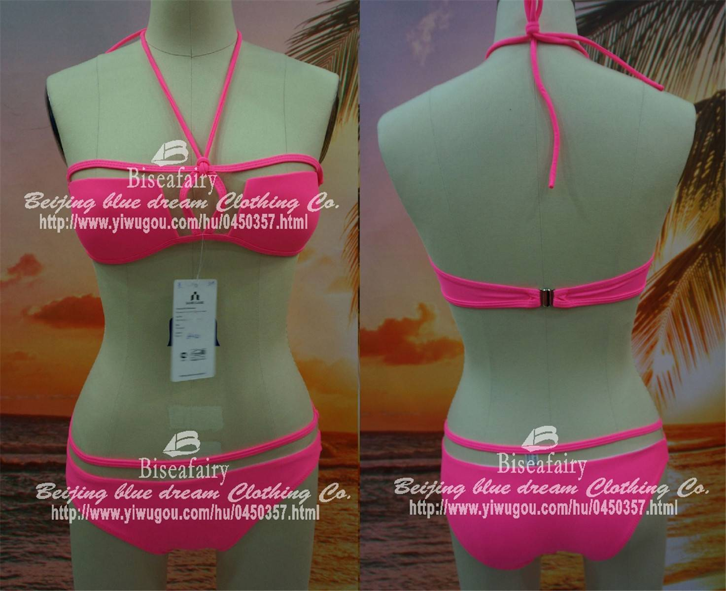 woman swimsuit bikini hollow design