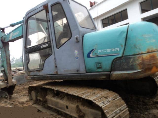 Used Kobelco Mini Excavator SK120