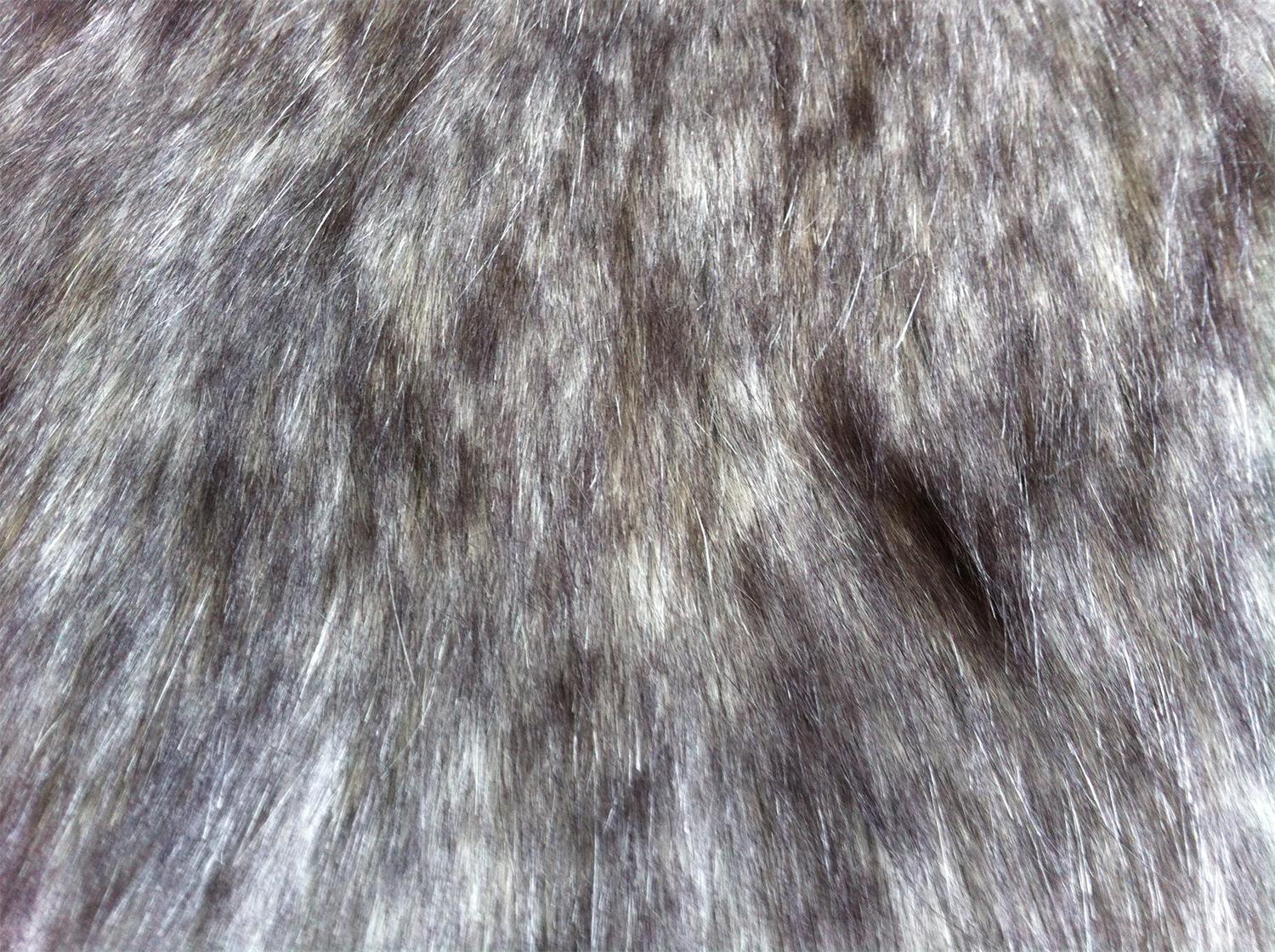 Acrylic Tip-dyed Long-hair Fake Fur 880 G/M