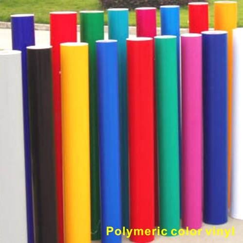 Polymeric color vinyl