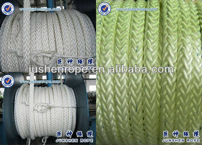 colored hawser rope