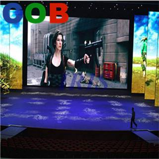 High brightness Indoor led advertising Pitch 6mm display, P6 large led display for advertising