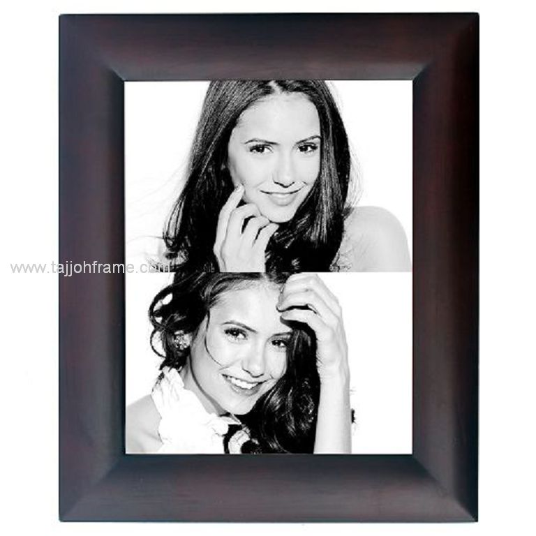 Modern Fashion Wide Linear Wooden Photo Frame