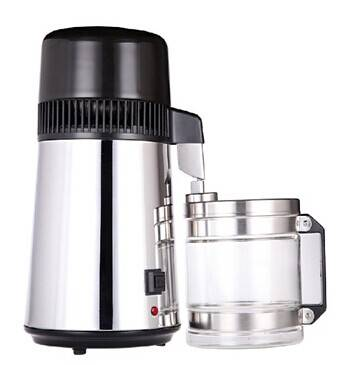 Distilled Water Machine Portable Water Filter Distiller Medical Machine with Stainless Steel