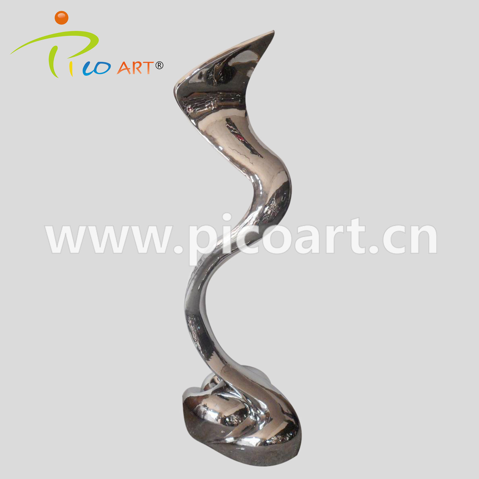 Handmade Polished Craft Design for Metal Garden Art Special Rivulet Design Sculpture