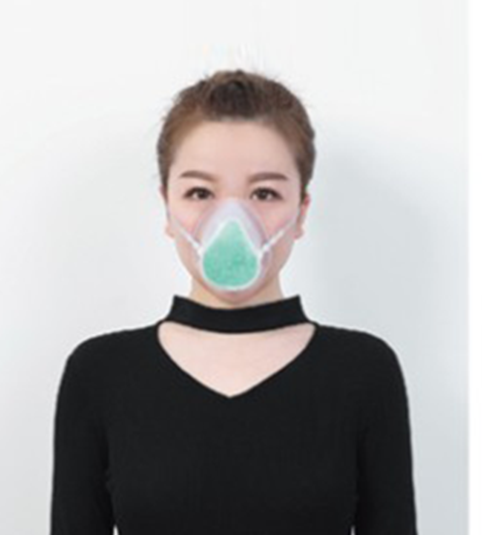 Self-Suction Filtering Respirator