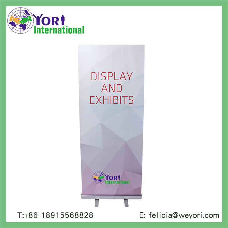 Yori high quality logo printed advertising roll up banner stand