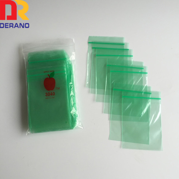 Custom cheap plastic ldpe apple baggies from China