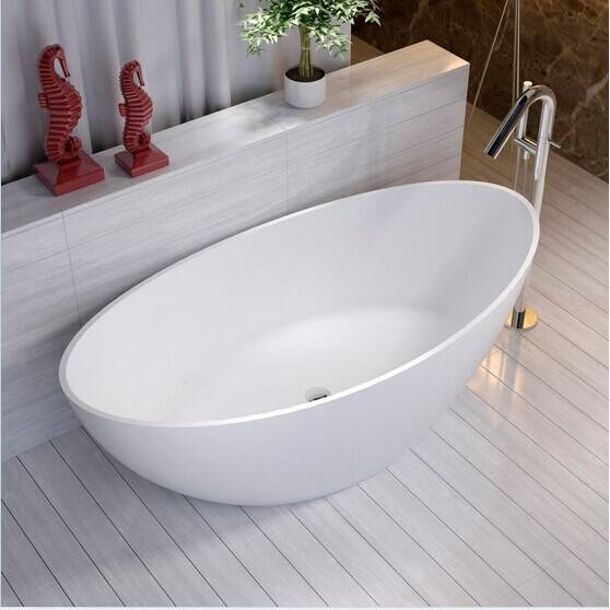 New design popular acrylic simple bathtubs