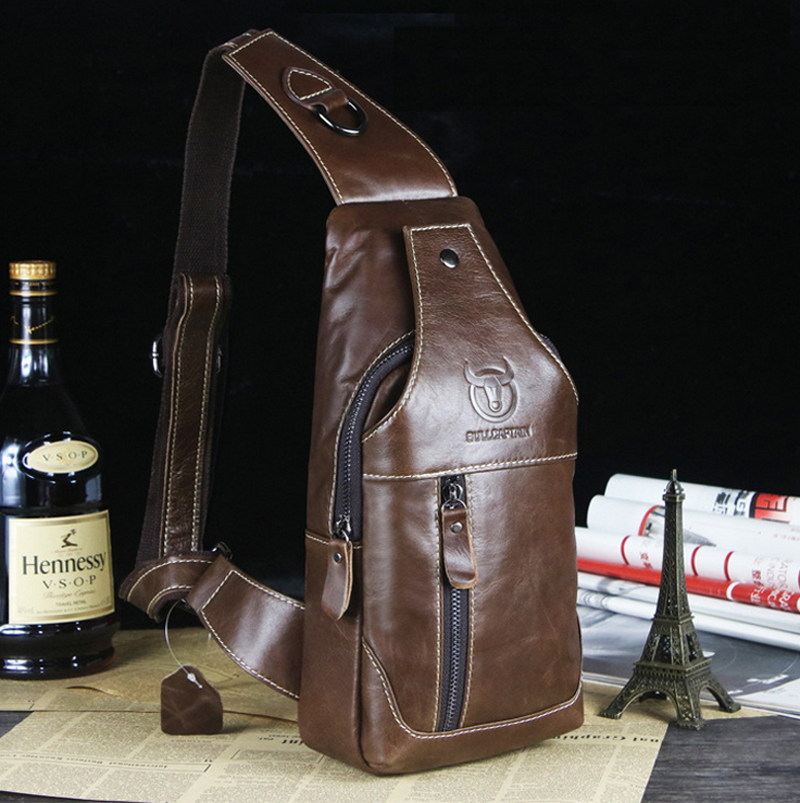 2018 New Genuine Leather Body Crossing Bag