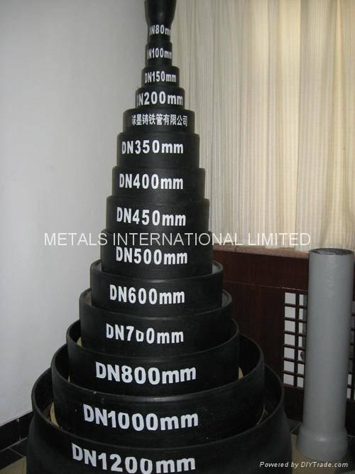ISO 2351,EN545,EN598,AS 2280-Ductile Iron Pipe
