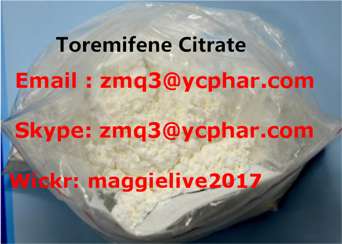 CAS 89778-27-8 Cancer Treatment Steroids / Toremifene Citrate Raw Steroid Powders