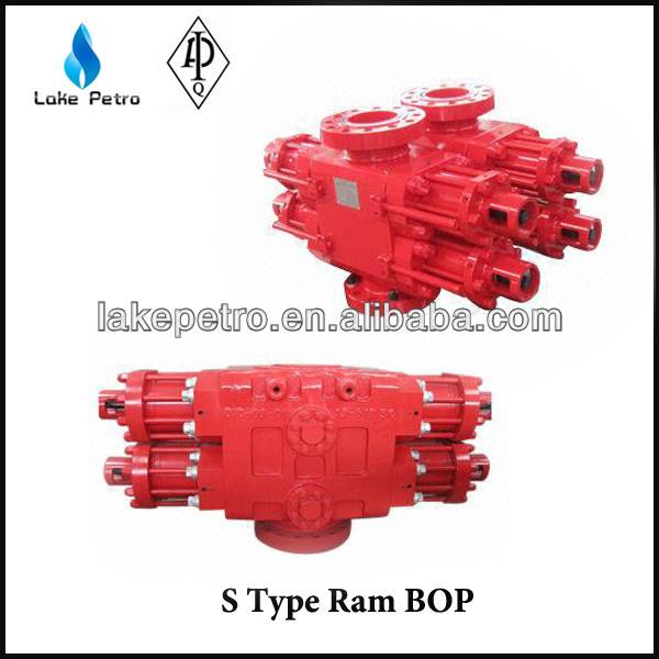 API 16A DOUBLE RAM/SINGLE RAM BOP FOR WELL DRILLING