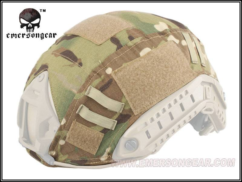 Military Tactical Airsoft Shooting Gear Combat Helmet Cover