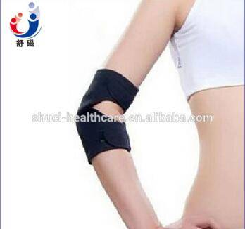 Self-heating neoprene elbow support brace tourmaline elbow support