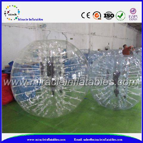 Factory bubble balls games,cheap inflatable ball with clear BB-M7001