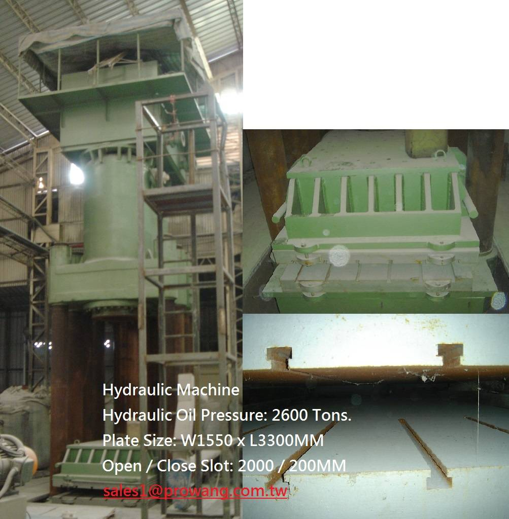Hydraulic Machine 2600 Ton