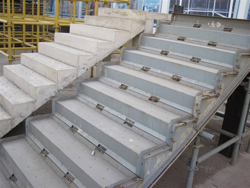 Construction Concrete Stair Formwork Scaffolding System