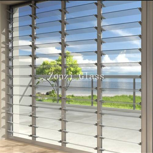 Manufacturer Supply Louver Glass with CE Certificate