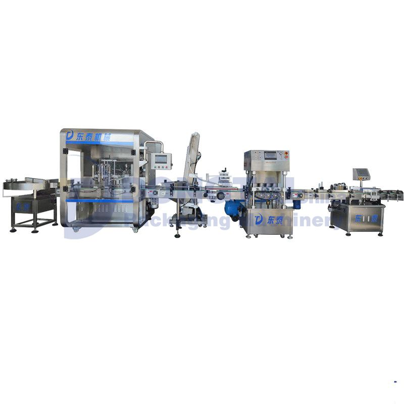 Thick Sauce/Paste Filling and Capping machine