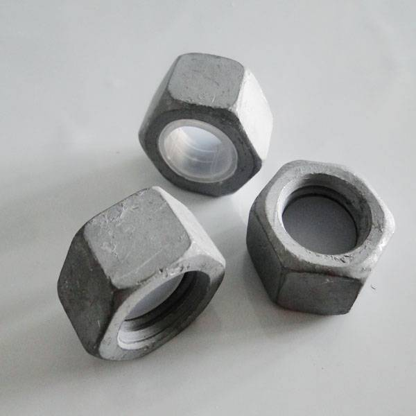 hex head hard electrical transmission tower nut