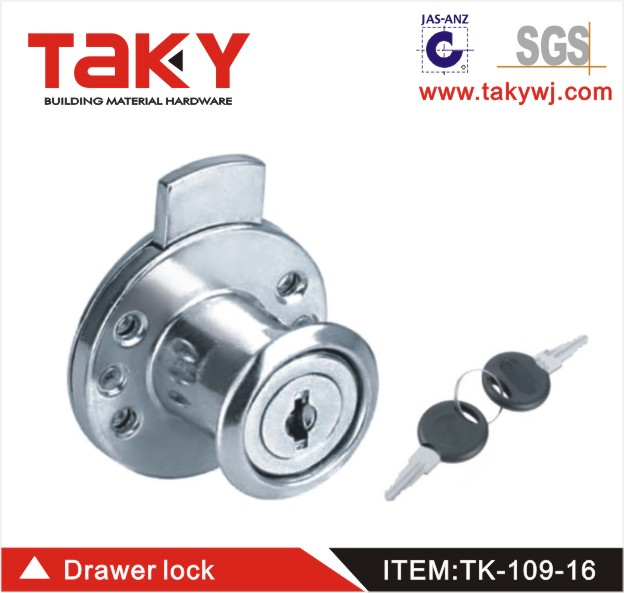 High quality Zinc alloy Furniture 109-16 drawer lock