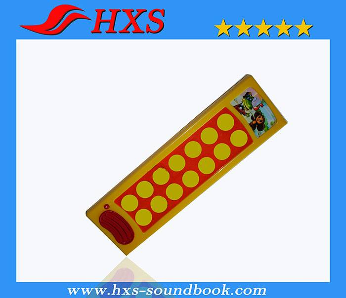 15 Button Educational Book Electronic Sound Pad for children learning
