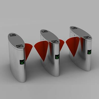 CE & RoHS approved flap barrier gate in Access Control System