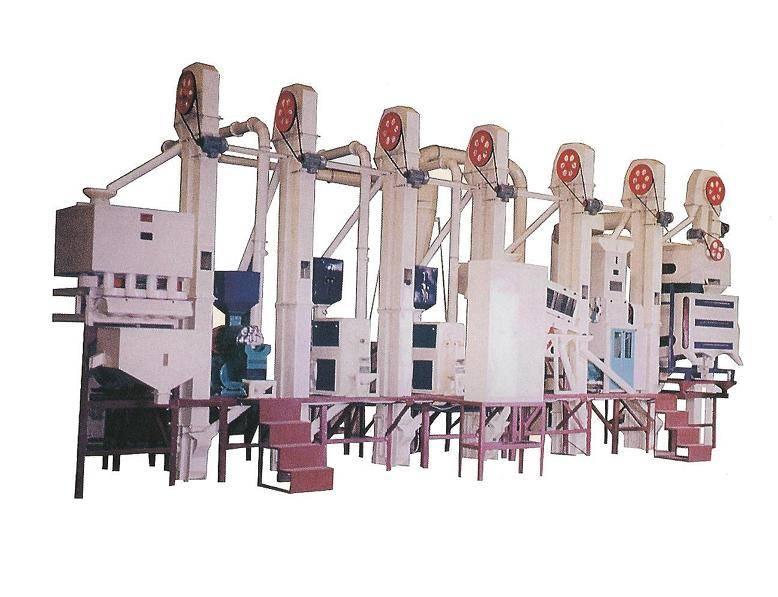 Complete Set Rice Milling Plant