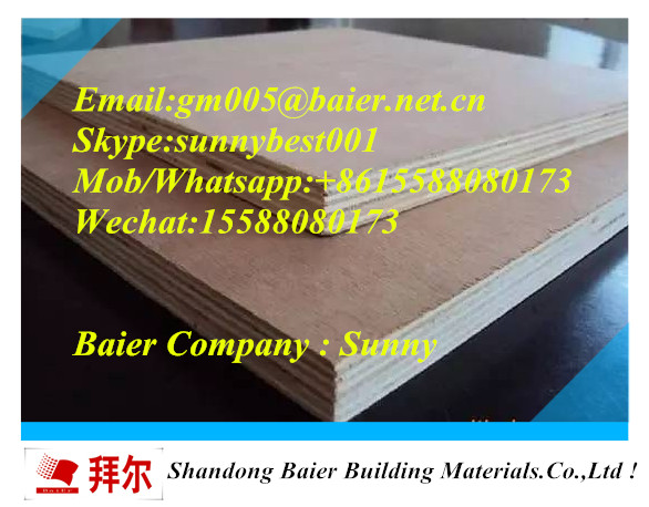 bintangor/okoume/keruing/birch WBP/Melamine/MR/E0/E1/E2 glue good quality plywood
