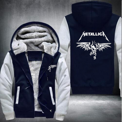 2016 Winter Death Note hoodie Anime Hooded Thick Zipper Men Sweatshirts Jackets and Coats USA size