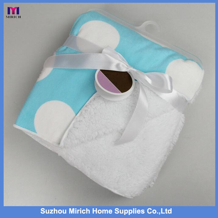 China Wholesale Price Soft Hand Feeling Personalized Print Baby Blanket
