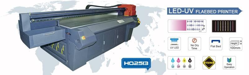 KEDITEC HQ2513 LED UV Flatbed Printing Machine
