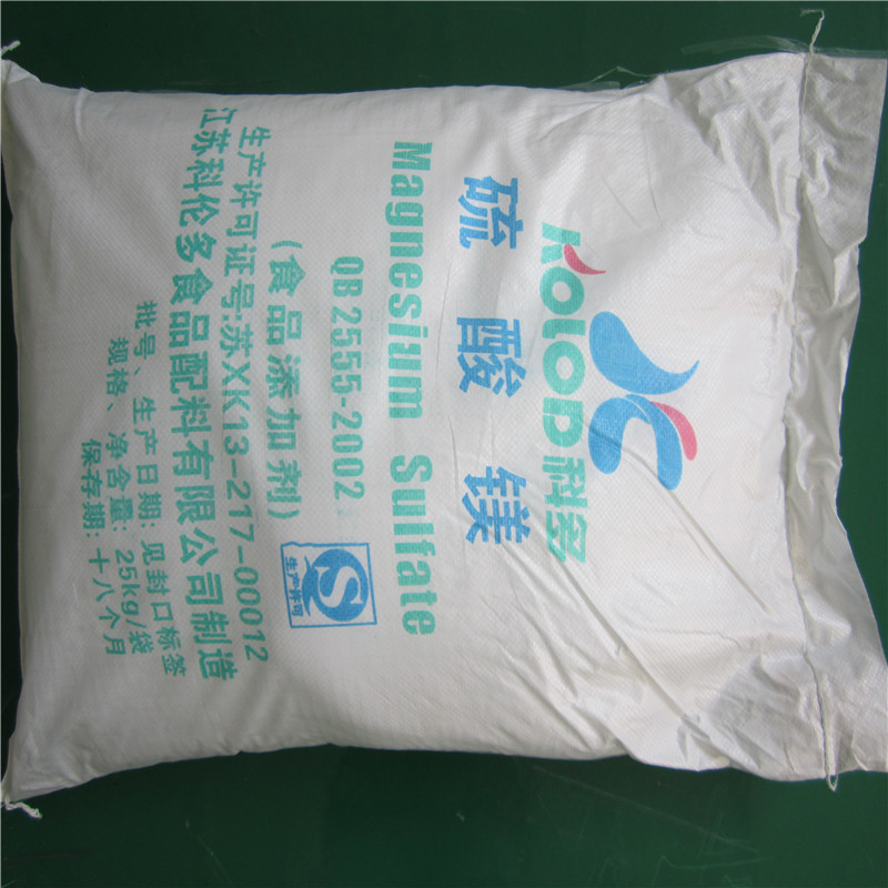 sell magnesium sulfate dried/heptahydrate food/pharma grade
