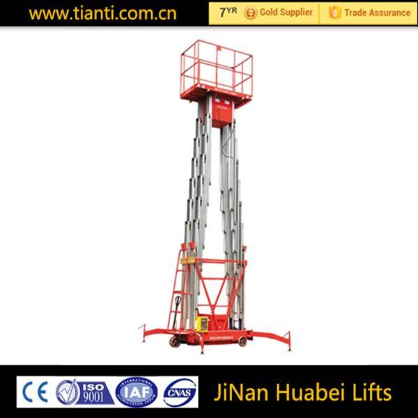 man work aerial work hydraulic platform for sale