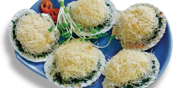 SCALLOP SHELL KADAIF