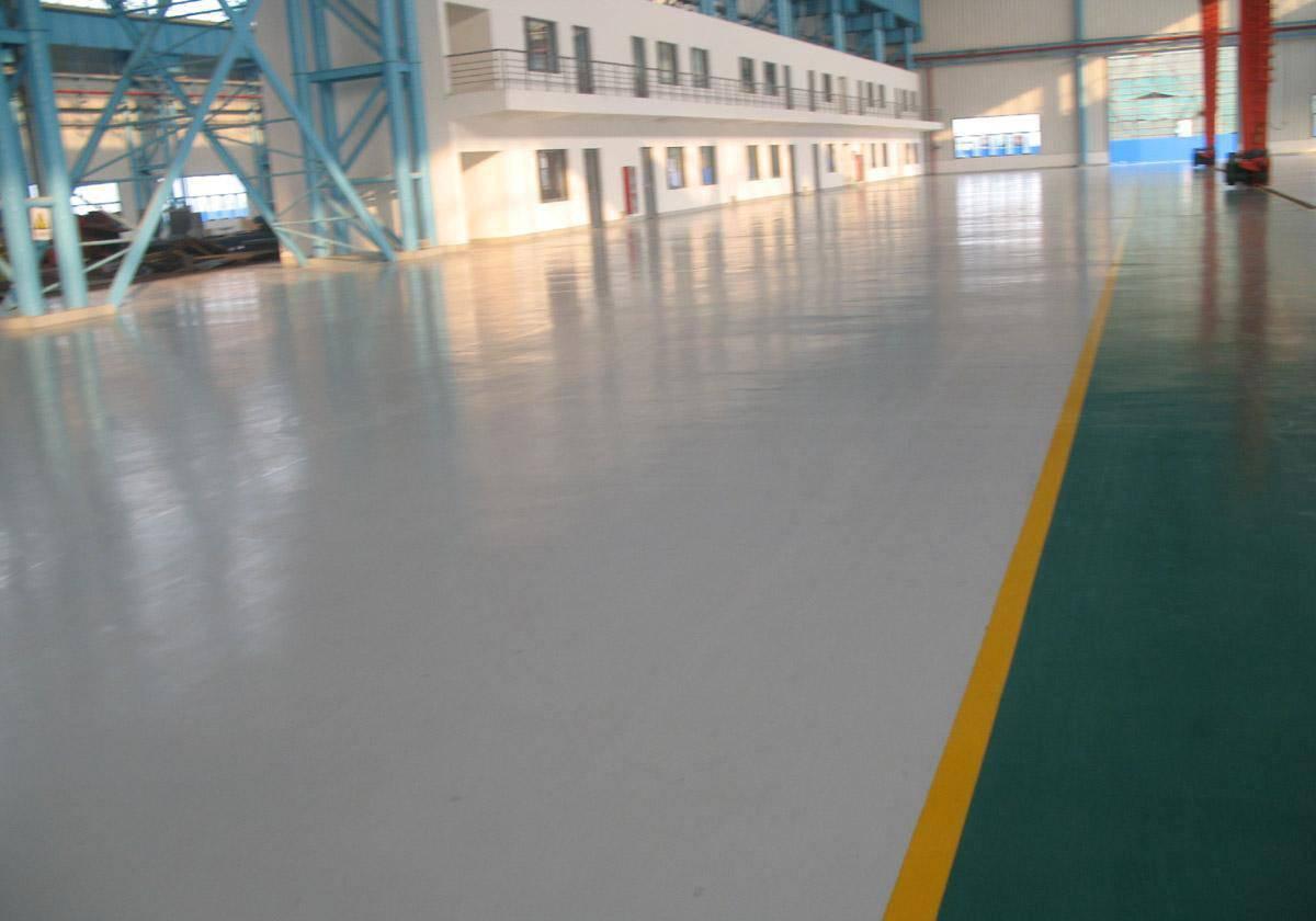 Non solvent epoxy floor paint