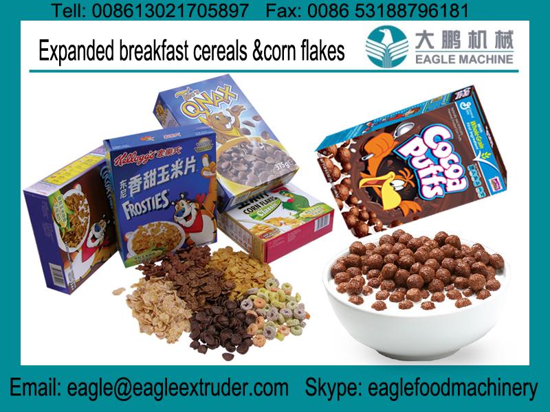 Jinan Eagle corn flakes machine