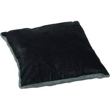 Luxurious Leather/Faux Fur Pillow GVSQ-5001