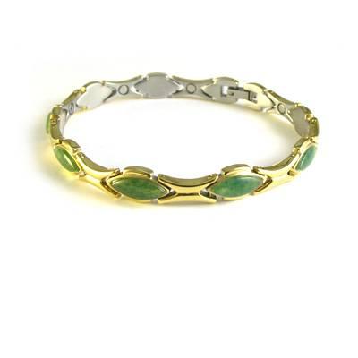 titanium magnetic bracelet with GE
