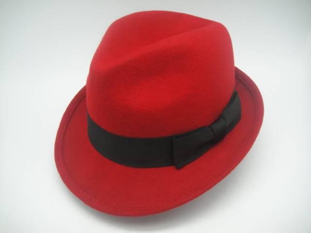 Man Fedora Wool Felt Hat (FM026032)