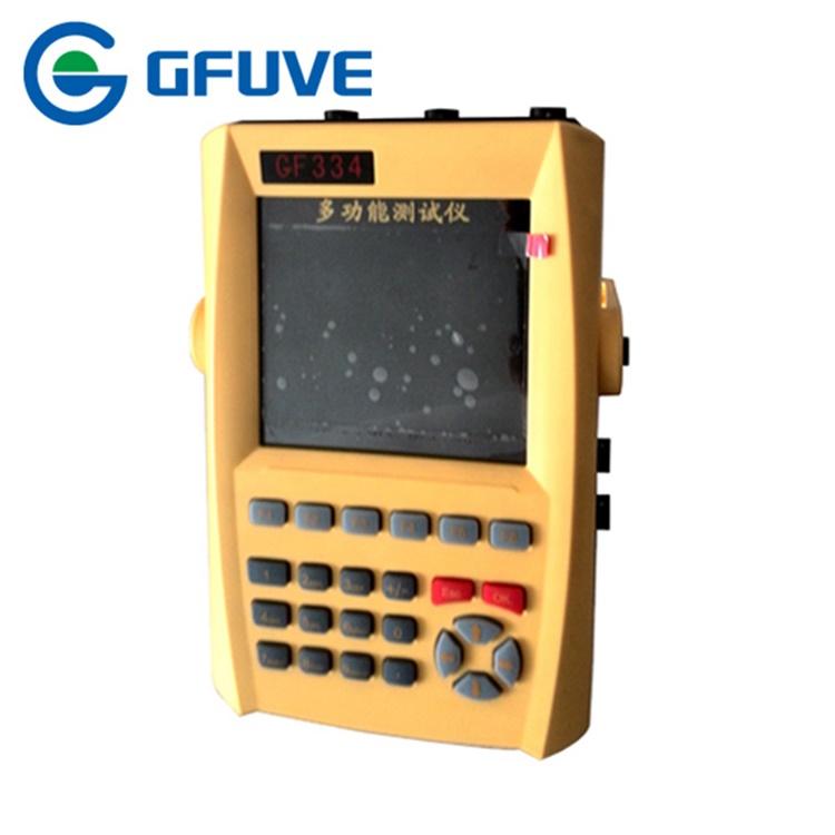 GF334 small size handheld harmonics power analyzer