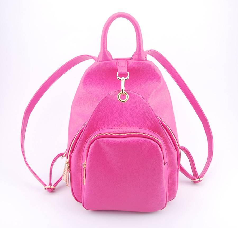 Guangzhou Supplier Designer PU Leather Womens Backpack Bag (00537)