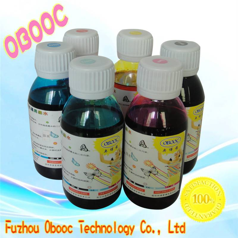 Obooc Water Based TIJ2.5 Printing Ink for Industrial Bar Code/Variable Data Printing