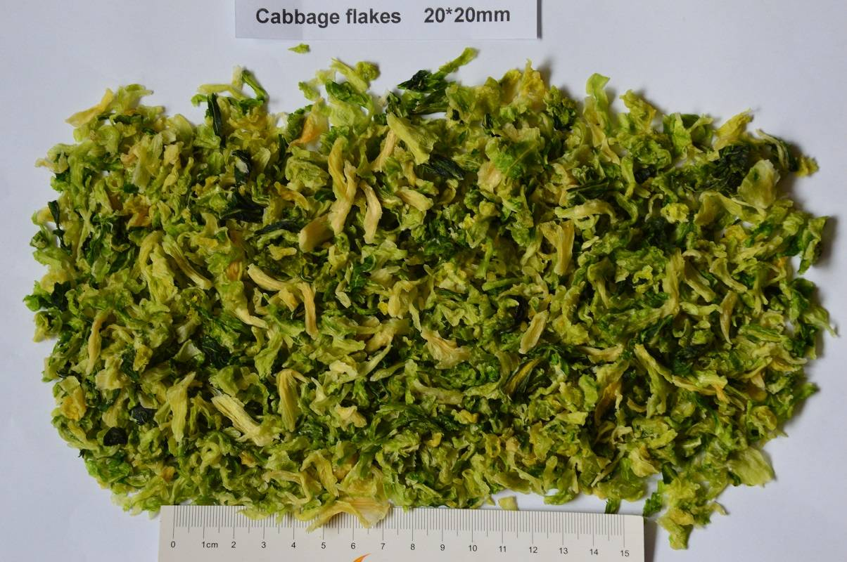 dried cabbage/dehydrated cabbage/AD cabbage flakes