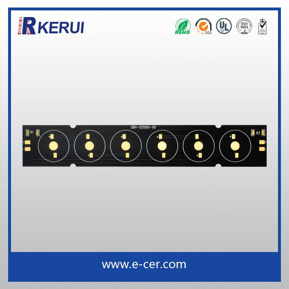 2015 high quality aluminum pcb board for led light bar