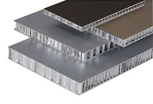 Aluminum Honeycomb Panels for Facade Cladding with PVDF Coating