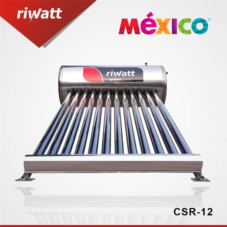 calentador de agua solar de acero inoxidable de México