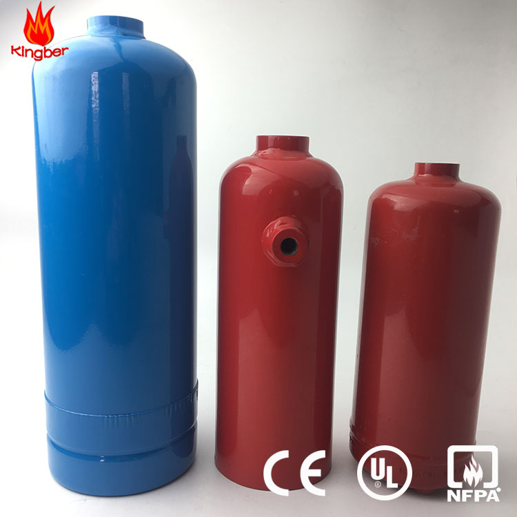 1KG/2KG Blue Color Carbon Steel DCP Cylinder for Fire Extinguisher for the Factory Price